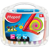 Maped gelmalstift COLOR'PEPS GEL, 10er Kunststoffetui