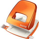 LEITZ locher Nexxt 5008, orange-metallic,Schachtelverpackung