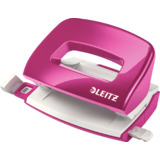 LEITZ locher Mini nexxt WOW 5060, pink-metallic, im Karton