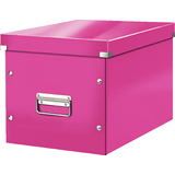LEITZ ablagebox Click & store WOW cube L, pink