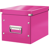 LEITZ ablagebox Click & store WOW cube M, pink