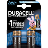 "DURACELL alkaline Batterie ""ULTRA POWER"" Micro, 4er Blister"