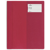 "DURABLE schnellhefter ""PROJECT FILE"", din A4, aus PVC, rot"