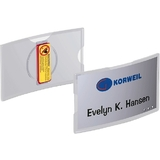 DURABLE namensschilder KONVEX, mit Magnet, 75 x 40 mm