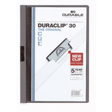 DURABLE klemmhefter DURACLIP original 30, din A4, anthrazit
