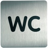 "DURABLE piktogramm PICTO ""WC"", quadratisch"