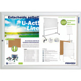 FRANKEN plakatrahmen Security, din A3, 32 mm Rahmenprofil
