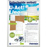 FRANKEN plakatrahmen Security, din A1, 32 mm Rahmenprofil