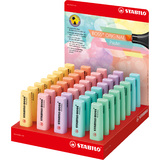 STABILO textmarker BOSS original Pastel, 45er Display