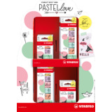 STABILO textmarker BOSS mini Pastellove, 72er Karton-Display