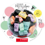 STABILO textmarker BOSS mini Pastellove, 50er Display
