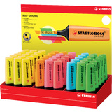STABILO textmarker BOSS ORIGINAL, 45er Karton-Display