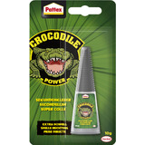 Pattex crocodile Power Sekundenkleber, 10 g Flasche