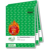 "sigel formularbuch 2+1 aktion ""HOT DEAL"" - ""Gesprächsnotiz"""