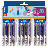 PILOT fineliner EVOLUTIVE set FRIXION, 12er Etui