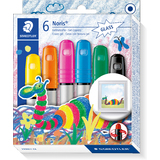 "STAEDTLER gelmalstift Noris club ""Effect color Basic"", Etui"