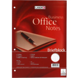 "LANDRÉ briefblock ""Business office Notes"", din A4, kariert"