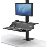 Fellowes sitz-steh Workstation lotus VE, für 1 Monitor