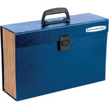 Fellowes bankers BOX Fächertasche Handifile, 19 Fächer, blau