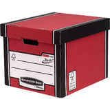 Fellowes bankers BOX premium Hohe Archiv-/Transportbox, rot