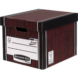 Fellowes bankers BOX premium Hohe Archiv-/Transportbox,braun