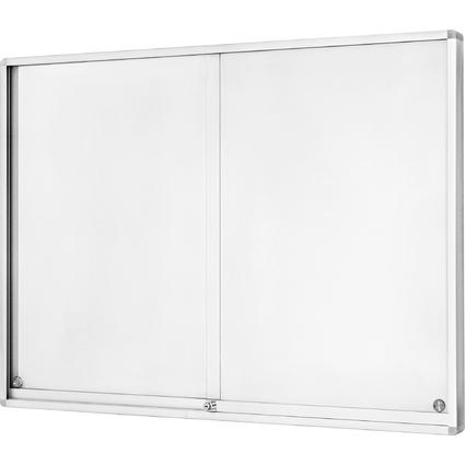 magnetoplan Schaukasten mit Schiebetüren, 18 x DIN A4