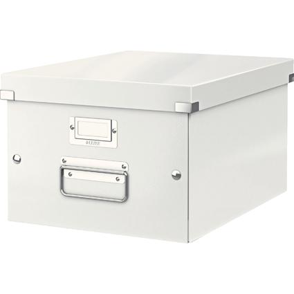 LEITZ Ablagebox Click & Store WOW, DIN A4, weiß