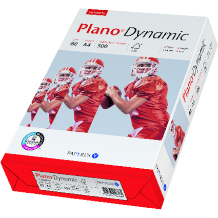 80 g// qm A4 PAPYRUS Multifunktionspapier Plano Dynamic 7318761026089