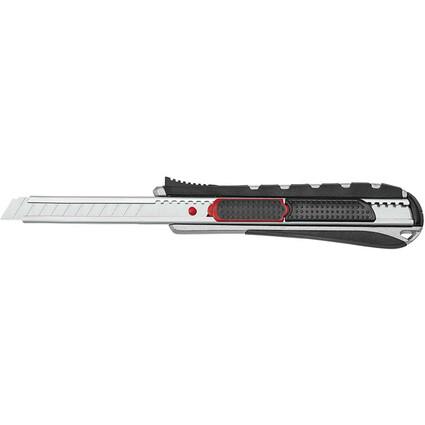 WEDO Cutter 2-in-1, Klinge: 9 mm, schwarz/rot