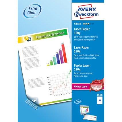 "AVERY Zweckform Kopier-Papier ""Colour Laser"", A4, 120g/qm"