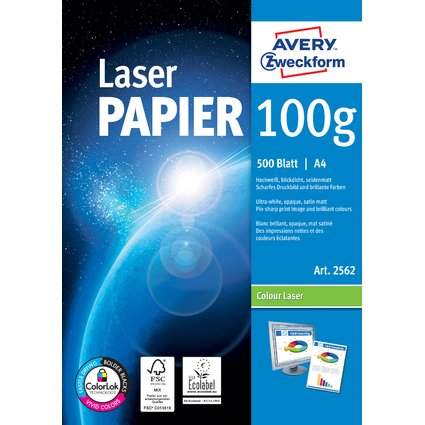 "AVERY Zweckform Kopier-Papier ""Colour Laser"", A4, 100g/qm"