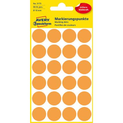 AVERY Zweckform Markierungspunkte, Durchmesser 18 mm,