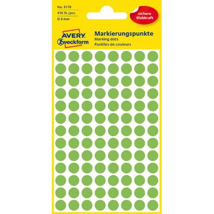 AVERY Zweckform Markierungspunkte, Durchmesser 8 mm
