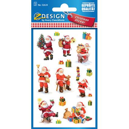 """AVERY Zweckform ZDesign Weihnachts-Sticker """"Nikolaus"""""""