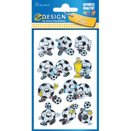 "AVERY Zweckform ZDesign KIDS 3D-Sticker ""Fußball"""