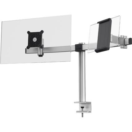 DURABLE Monitorhalterung, 1 Monitor und Tablet, Tischklemme