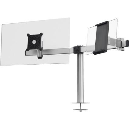 DURABLE Monitorhalterung, für 1 Monitor und 1 Tablet