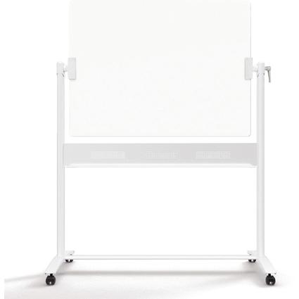 FRANKEN Glas-Stativdrehtafel, reinweiß, 1.200 x 900 mm
