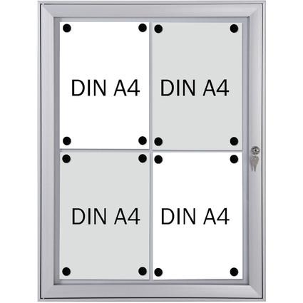 FRANKEN Schaukasten SECURITY für 4x DIN A4, feuerfest