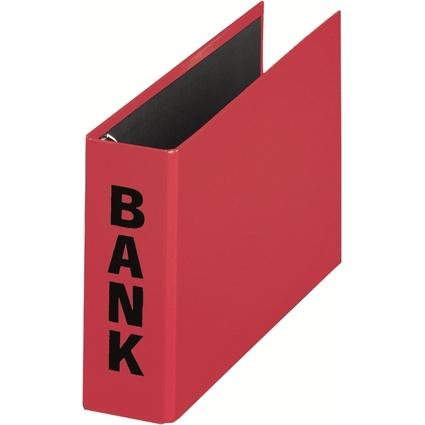 """PAGNA Bankordner """"Basic Colours"""", für Kontoauszüge, rot"""