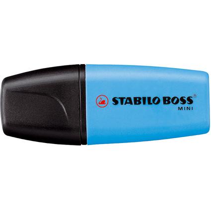 STABILO Textmarker BOSS MINI, blau