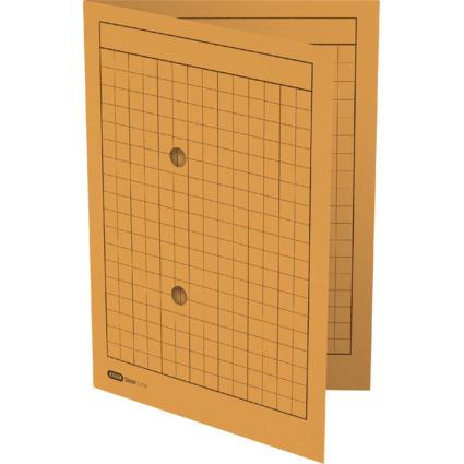 ELBA Verteiler- und Umlaufmappe, DIN A4, Manilakarton, gelb