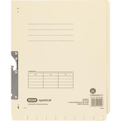 ELBA Spektral-Pendelhefter, DIN A4, Kraftkarton, chamois