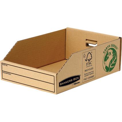 Fellowes BANKERS BOX EARTH Kleinteilebox, braun, (B)200 mm