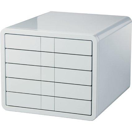 HAN Schubladenbox i-Box, 5 Schübe, Gehäuse: grau