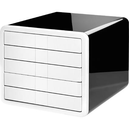 HAN Schubladenbox i-Box, 5 Schübe, Gehäuse: schwarz