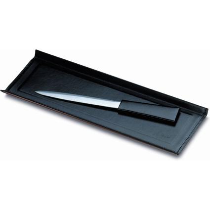 Läufer Schreibtisch-Set MONZA, 3-teilig, schwarz