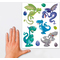 "AVERY Zweckform ZDesign KIDS Fensterbild ""Drache"", DIN A4"
