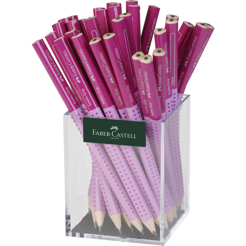 fabercastell bleistift jumbo grip two tone rosapink