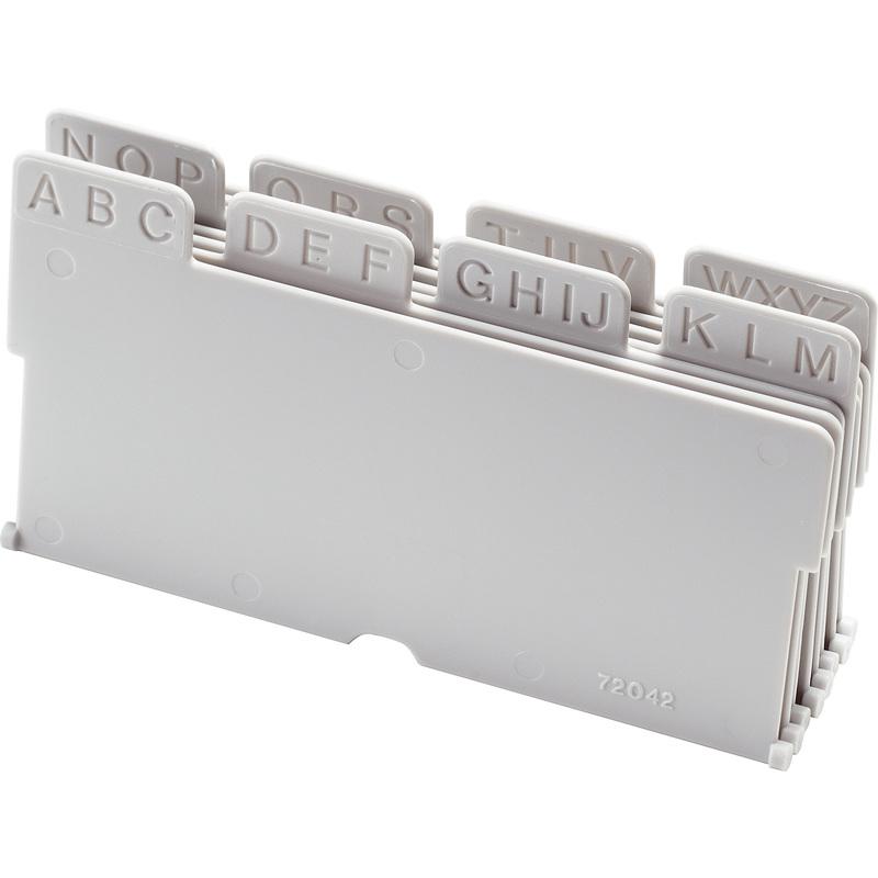 Helit Unterteilung Für Visitenkartenbox Linear 8 Teilig
